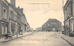 Conlie Place Des Halles (animée - Conlie