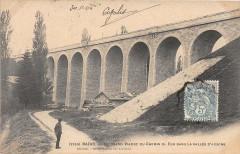 Bazas Le Grand Viaduc Du Chemin De Fer Dans La Vallee D'Ausone - Bazas