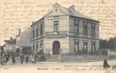 Mortcerf La Mairie  (dos non divisé) - Mortcerf