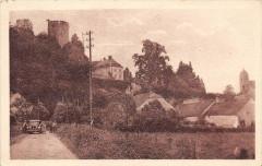 Rupt Sur Saone La Tour Du Chateau Chemin De Chantes (cliché pas courant - Chantes