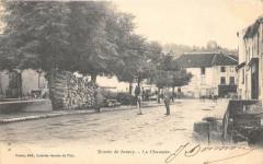 Entree De Jussey La Chaussee  (dos non divisé) - Jussey