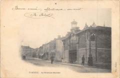Saint Mihiel Le Nouveau Marche (dos non divisé) - Saint-Mihiel