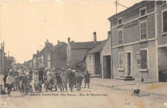 Saint Sauveur Rue De Baudoncourt (cliché  pas courant - Baudoncourt