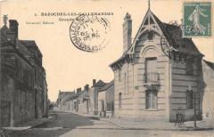 Bazoches Les Gallerandes Grande Rue (cliché pas courant - Bazoches-les-Gallerandes