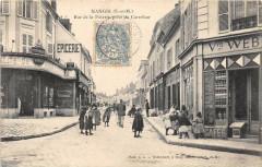 Nangis Rue De La Poterie Prise Du Carrefour - Nangis