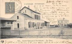 Saint Gervais D'Auvergne La Gare - Saint-Gervais-d'Auvergne