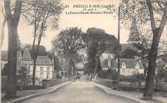 Preuilly Sur Claise Le Pont Et Rue Senateur Nioche - Preuilly-sur-Claise