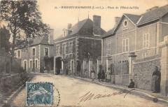Marigny Marmande Place De L'Hotel De Ville (pas courante - Marigny-Marmande