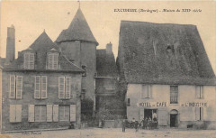 Excideuil  Hotel Cafe De L'Industrie - Excideuil