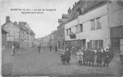 Darnetal La Rue Du Longpaon Quartier De La Girafe (au verso cachet avec c - Darnétal