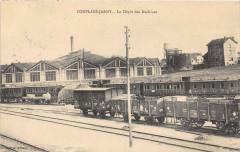 Conflans Jarny Le Depot Des Machines (Train - Jarny