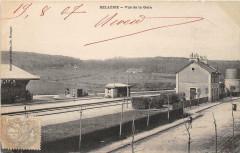 Belleme Vue De La Gare - Bellême