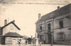 Prisse La Mairie Monument Et Poste (cliché pas courant - Prissé