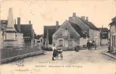 Maligny Monument Et Route De Ligny - Maligny