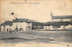 Panazol Place De L'Eglise (cliché pas courant - Panazol