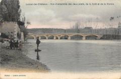 Saint Romain Vue D'Ensemble Des Deux Ponts De La Foret Et De La Vienne - Saint-Romain