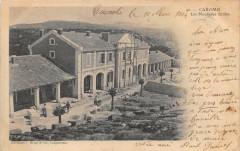 Caromb Les Nouvelles Ecoles (dos non divisé) - Caromb