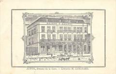 Autun Avenue De La Gare Librairie M.guignard - Autun