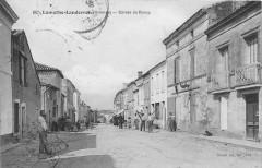 Lamothe Landerron Entree Du Bourg (animée - Bourg