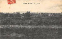 Cheval Blanc Vue Generale (pas courante - Cheval-Blanc