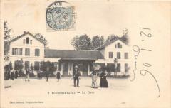 Fourchambault La Gare  (dos non divisé) - Fourchambault