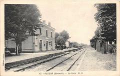 Galgon La Gare (cliché pas courant - Galgon