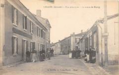 Salles Rue Principale Le Centre Du Bourg (cliché pas courant - Salles