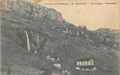 Carjac La Cogne Cascade (cliché pas courant 46 Lot