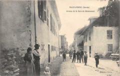 Maltaverne Avenue De La Gare De Chamousset - Chamousset