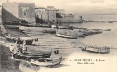 Saint Tropez La Pointe Bateaux Tires A Sec - Saint-Tropez