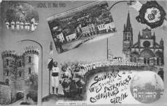 Bazas 27 Mai 1912 Souvenir De La VIIIe Journee Des Patronages Catholiques - Bazas