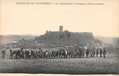 Colonies De Verrieres En Expedition A Polignac - Polignac