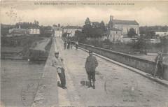 Saint Victurnien Pont Reliant La Rive Gauche A La Rive Droite - Saint-Victurnien
