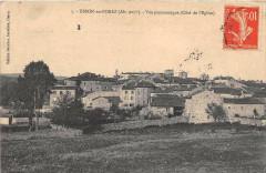 Usson En Forez Vue Panoramique Cote De L'Eglise - Usson-en-Forez
