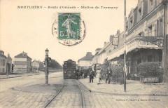 Route d'Orléans - Station du Tramway 91 Montlhéry