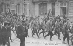 Ligny En Barrois Passage De Prisonniers Allemands - Ligny-en-Barrois