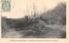 Cloue Pres Lusignan La Cressonniere Et Le Chemin De La Fontaine Du Gabour - Cloué