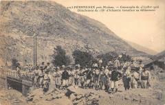 Fourneaux Catastrophe De 1906 Detachement Du 158e D'Infanterie Travaillan - Fourneaux