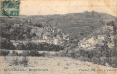 Beauchastel Ruines Feodales - Beauchastel