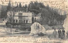 Environs De St Claude Chateau De Jeurre Ruines Du Pont Enleve Par Les Ino - Jeurre