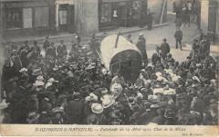 Saint Gengoux Le National Cavalcade Du 17 Avril 1910 Char De La Misere - Saint-Gengoux-le-National