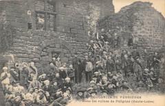 Colonies De Verrieres Dans Les Ruines De Polignac (pas courante - Polignac