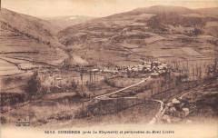Cubieres Pres Le Bleymard Et Perspective Du Mont Lozere (cliché pas coura - Cubières
