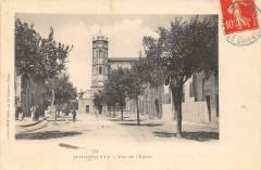 Saint Hippolyte Vue De L'Eglise  (cliché pas courant - Saint-Hippolyte