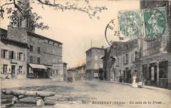 Bessenay Un Coin De La Place (cliché pas courant - Bessenay