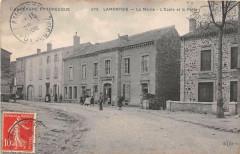 Lamontgie La Mairie L'Ecole Et La Poste - Lamontgie