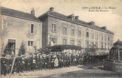 Ciry Le Noble La Mairie Ecole Des Garcons - Ciry-le-Noble