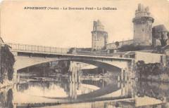 Apremont Le Nouveau Pont Le Chateau (cliché pas courant - Apremont