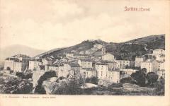 20 Corse Sartene (dos non divisé) - Sartène
