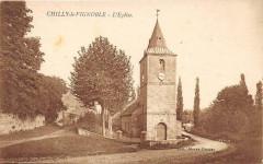 Chilly Le Vignoble L'Eglise (pas courante - Chilly-le-Vignoble
